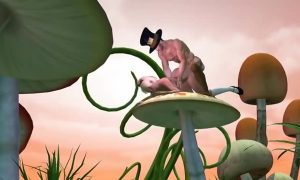 » Wonderland Alice Panties Off 3D Hentai