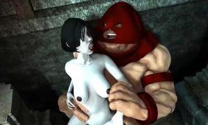» Uncensored Huge 3D Hentai Cock