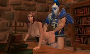 » Uncensored 3D Hentai The Stormwind Guards